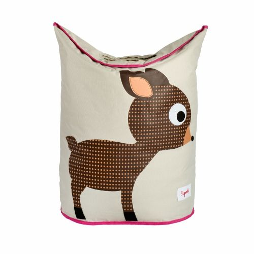 3 Sprouts Laundry Hamper - Deer Brown