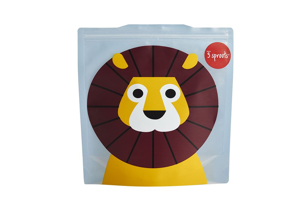 3 Sprouts Reusable Sandwich Bag - Lion