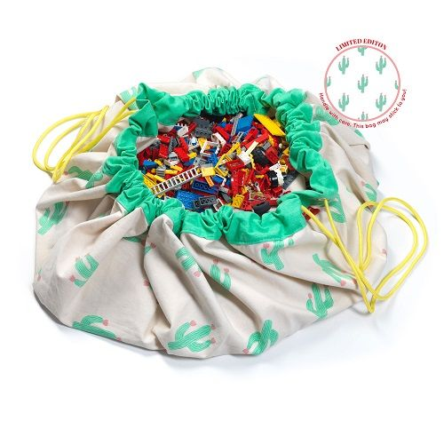 Cactus - Play & Go, Toy Storage Bag