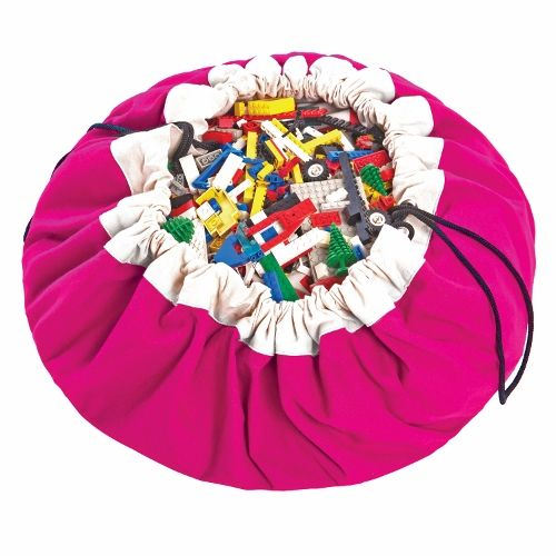 Classic Fuchsia - Play & Go, Toy Storage Bag
