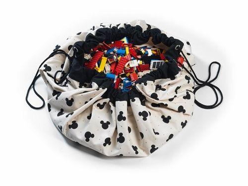 Disney - Mickey Black - Play & Go, Toy Storage Bag