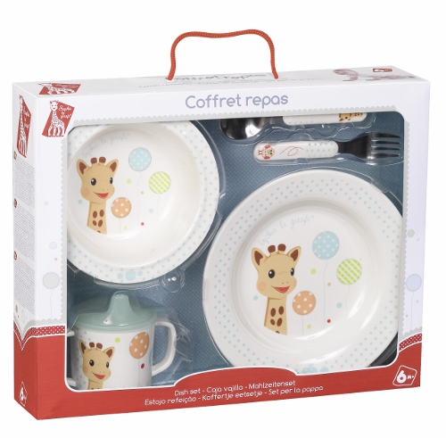 Sophie la girafe Mealtime Gift Box - Balloon version