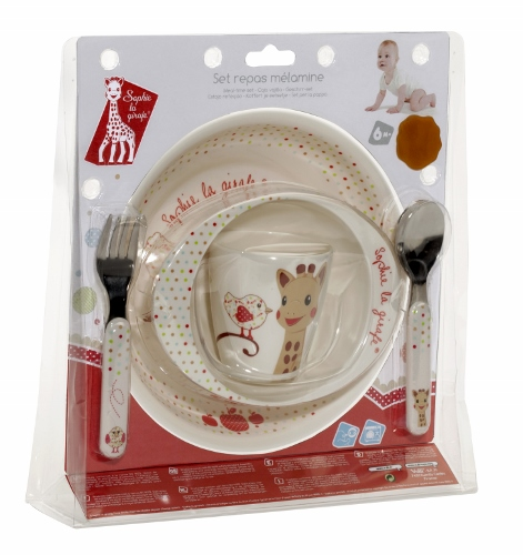 Sophie la girafe Mealtime Set - Kiwi Version