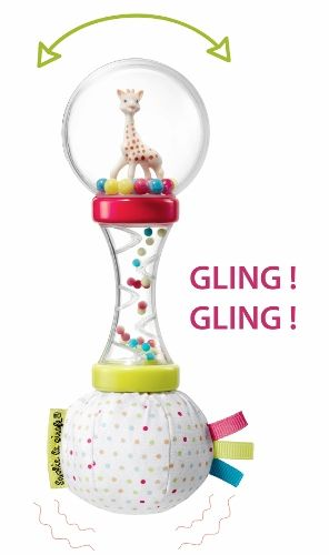 Sophie the Giraffe Soft Maracas Rattle